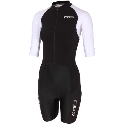 Zone3 Women's Lava Long Distance SS FullZip TriSuit