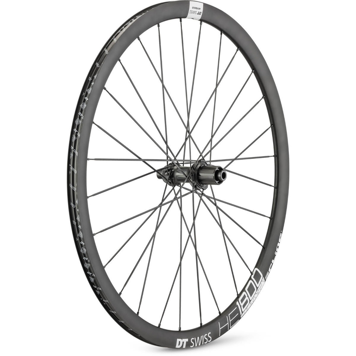 DT Swiss HE 1800 Spline 32 Rear Wheel - 700c 12x148mm Black
