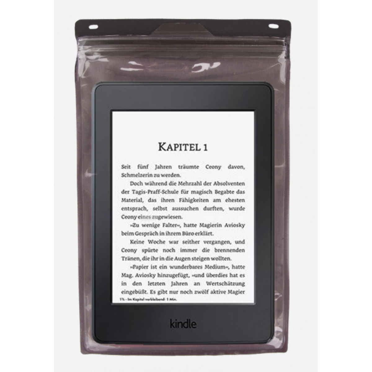 """Exped Seal Sleeve - Tablets + E-Readers 7"""" - One Size Transparent"""