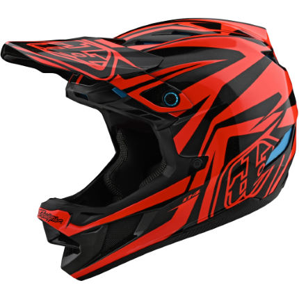 Troy Lee Designs D4 Composite Slash Helmet