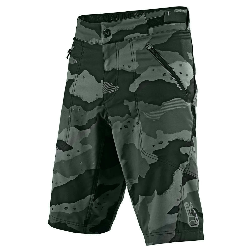 Troy Lee Designs Mens Skyline W//Liner MTB Shorts Camo Green All Sizes