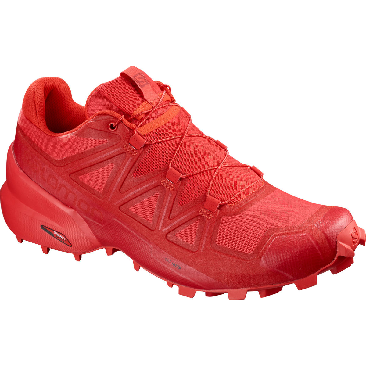 Salomon Speedcross 5 Shoes - UK 12 High Risk Red | Trail Shoes