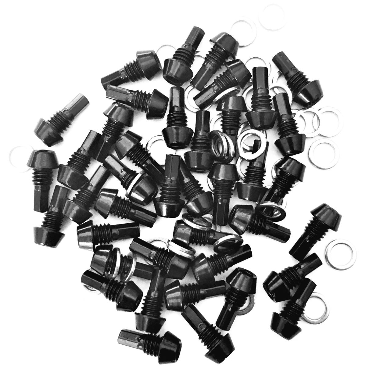 OneUp Components OneUp Components Aluminium Pedal Pin and Washer Kit   Pedal Spares