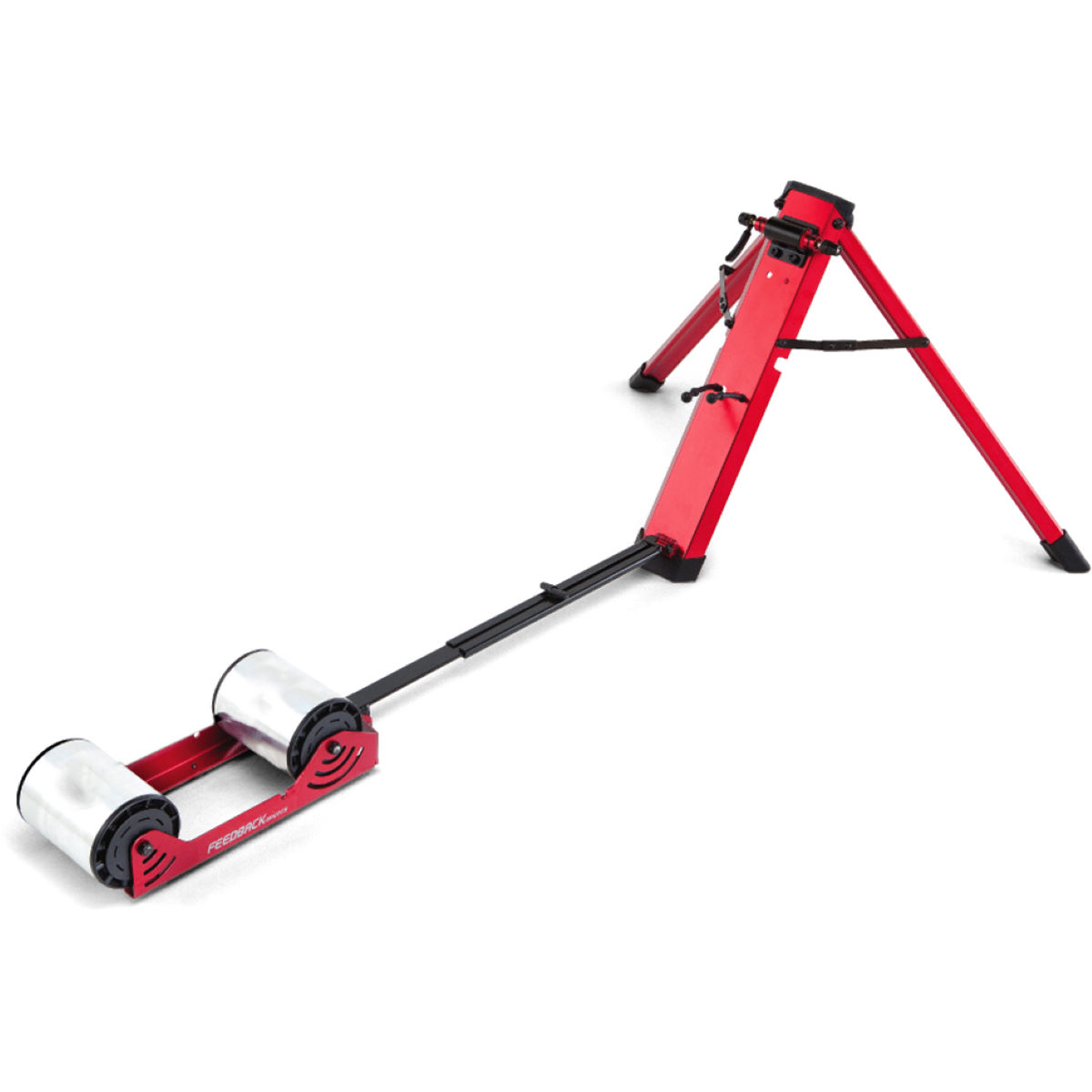 Feedback Sports Omnium Portable Bike Roller Trainer - Red  Rollers
