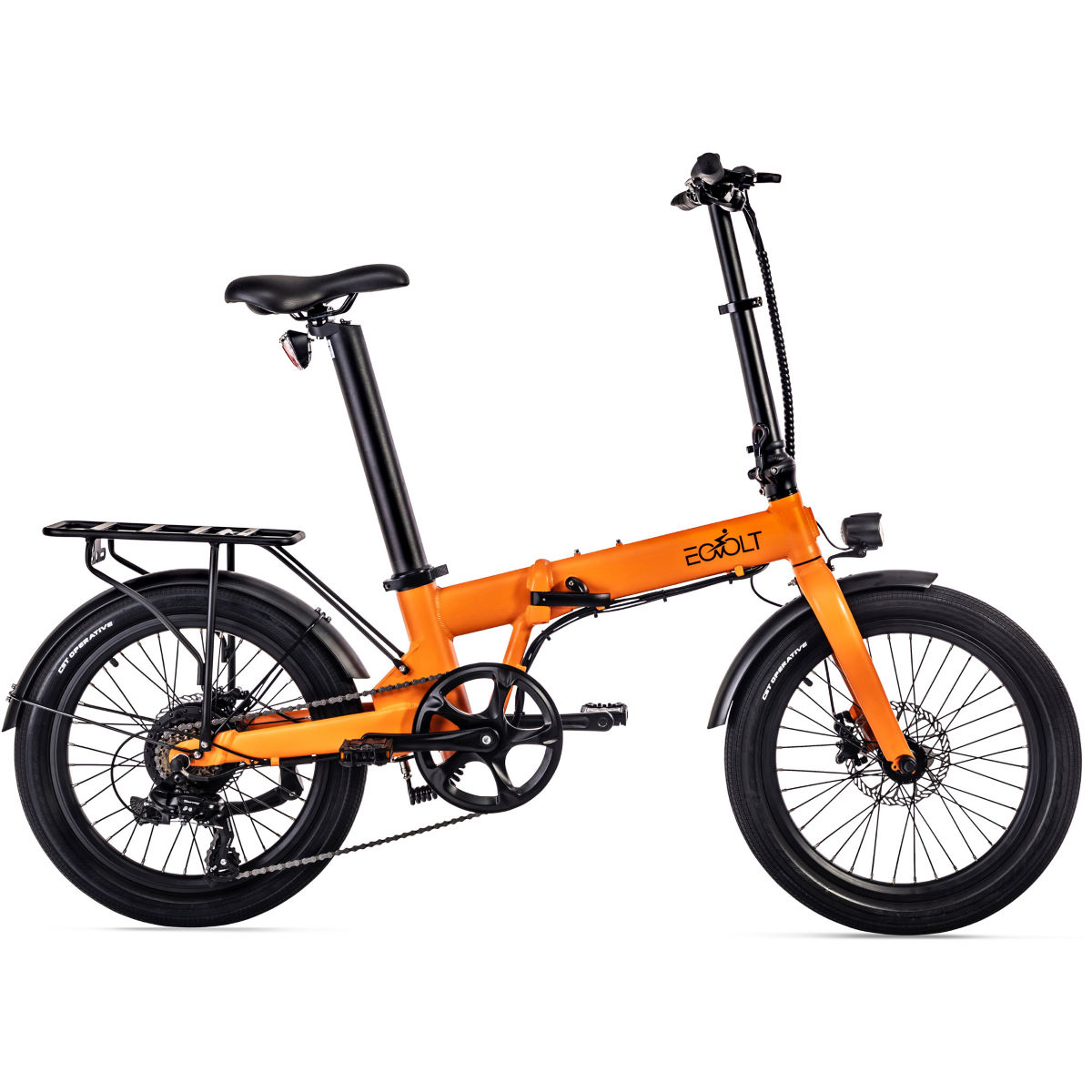EOVOLT EOVOLT Confort Lightweight Folding E-Bike (2021)   Folding Bikes