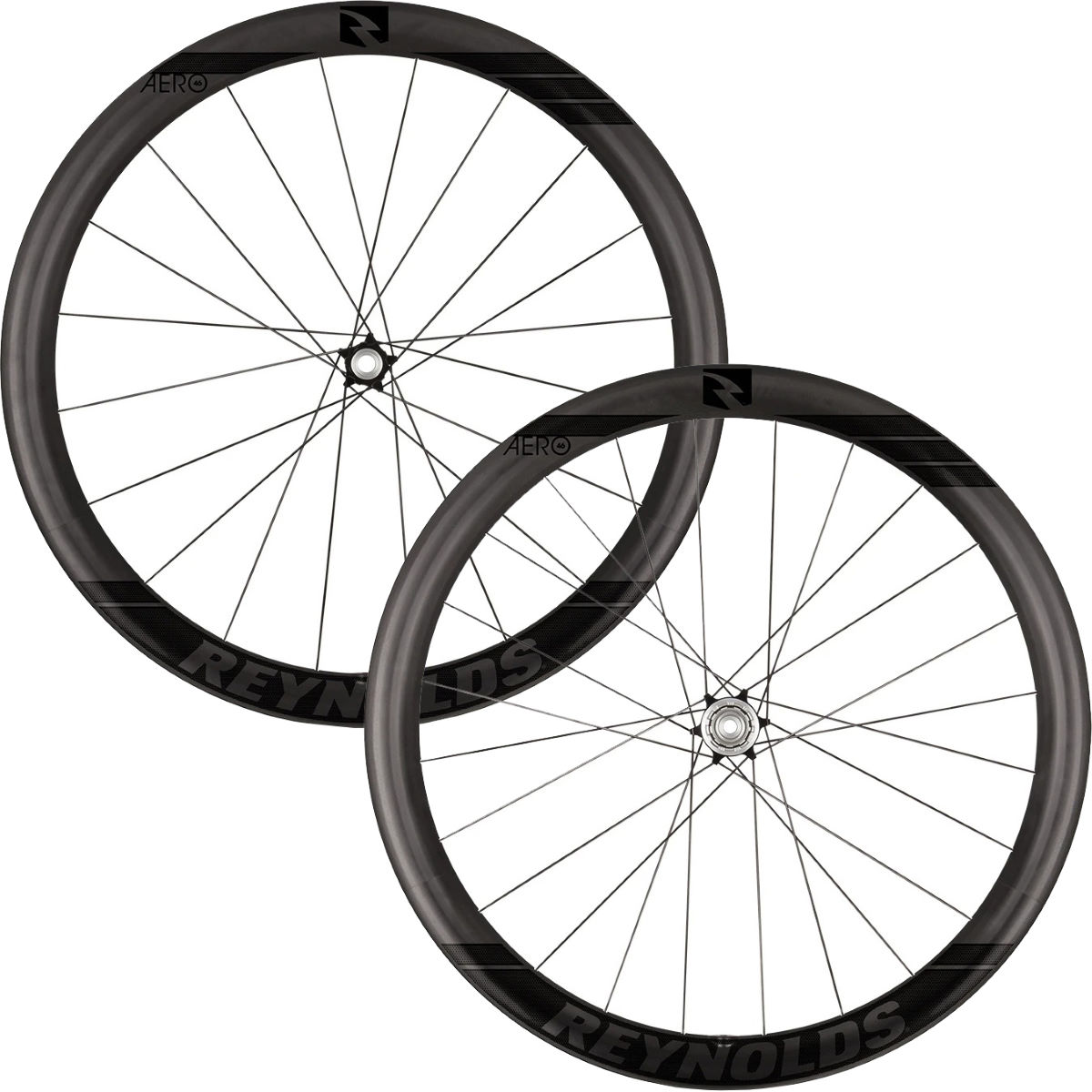 Reynolds Reynolds Aero 46 Black Label Carbon Disc Road Wheelset   Wheel Sets