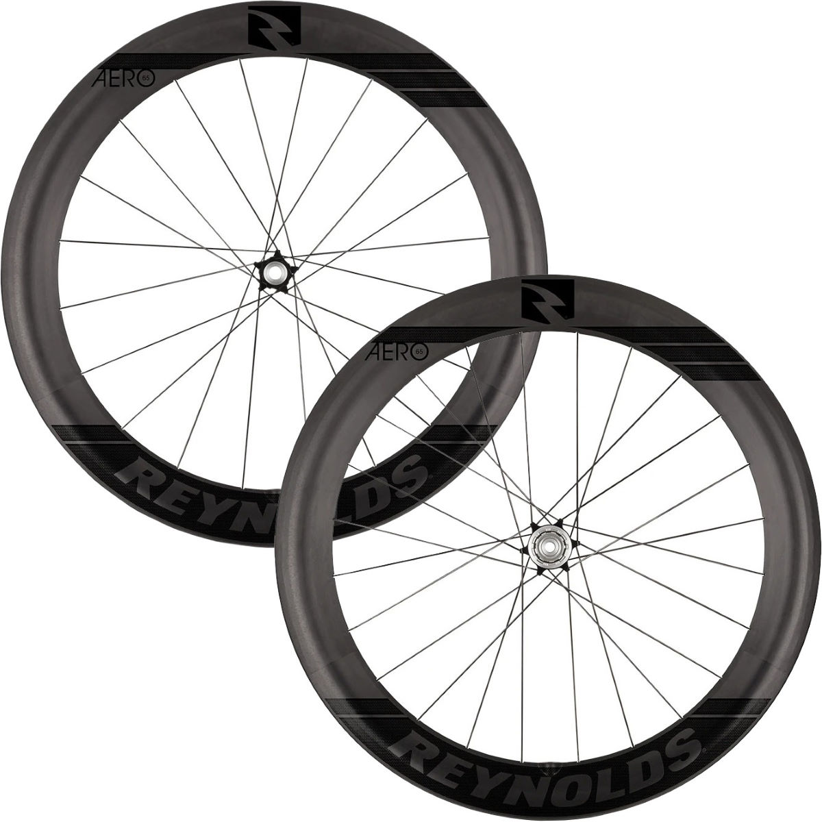 Reynolds Reynolds Aero 65 Black Label Carbon Disc Road Wheelset   Wheel Sets