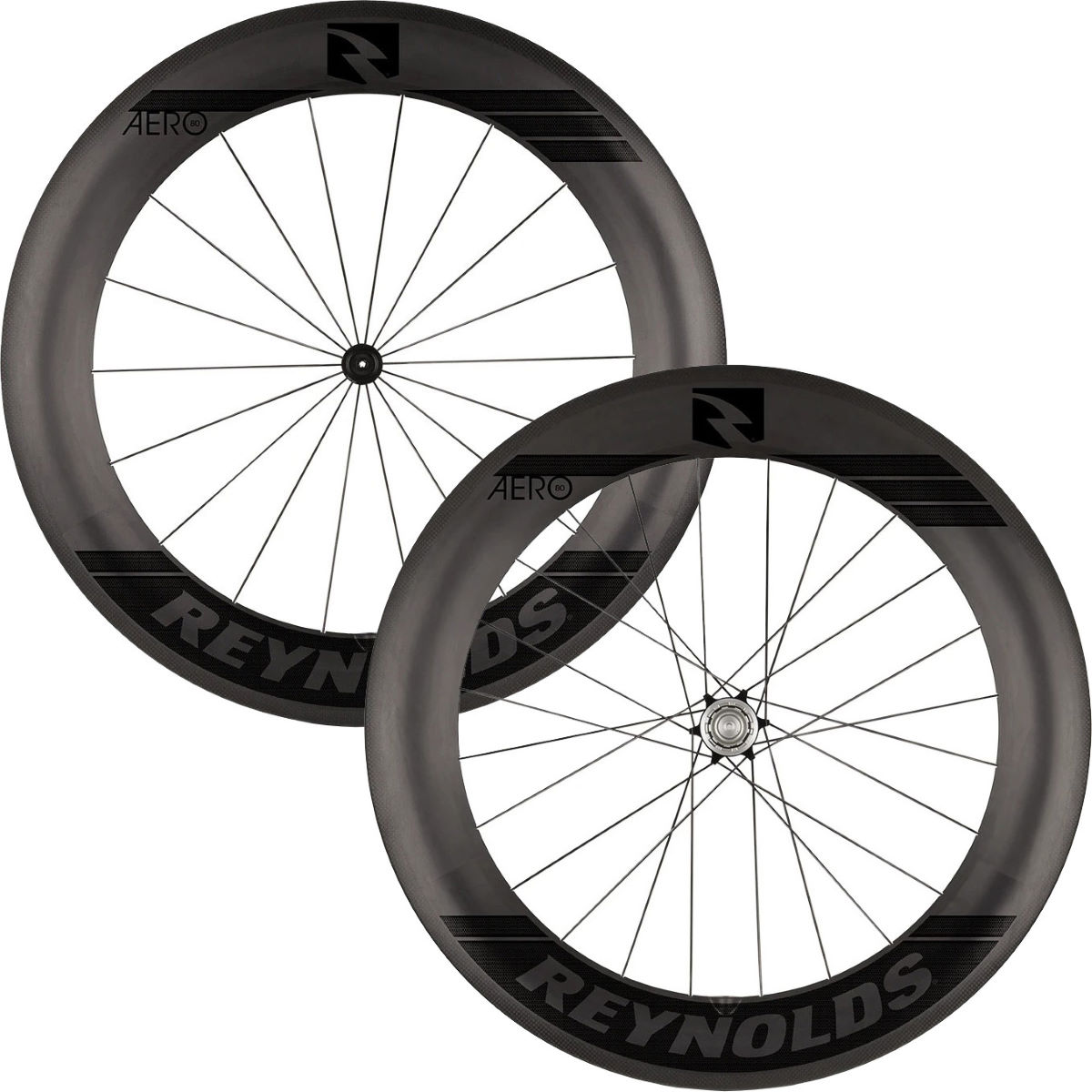 Reynolds Reynolds Aero 80 Black Label Carbon Road Wheelset   Wheel Sets