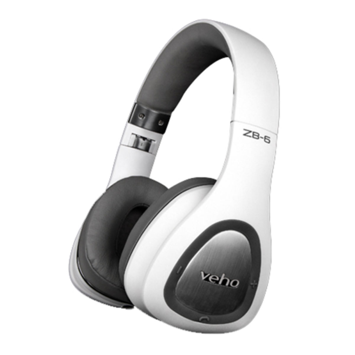 Veho ZB-6 On-Ear Wireless Bluetooth Headphones with Rem - Auriculares