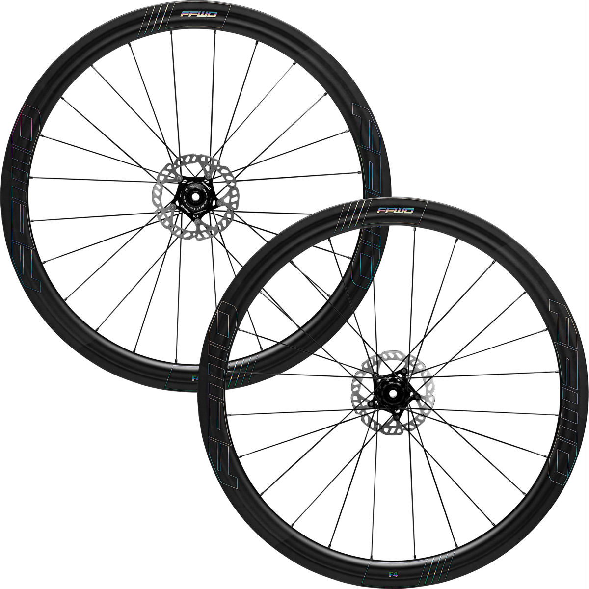 Fast Forward Fast Forward F4D Oil DT350 Carbon Disc Road Wheelset   Wheel Sets