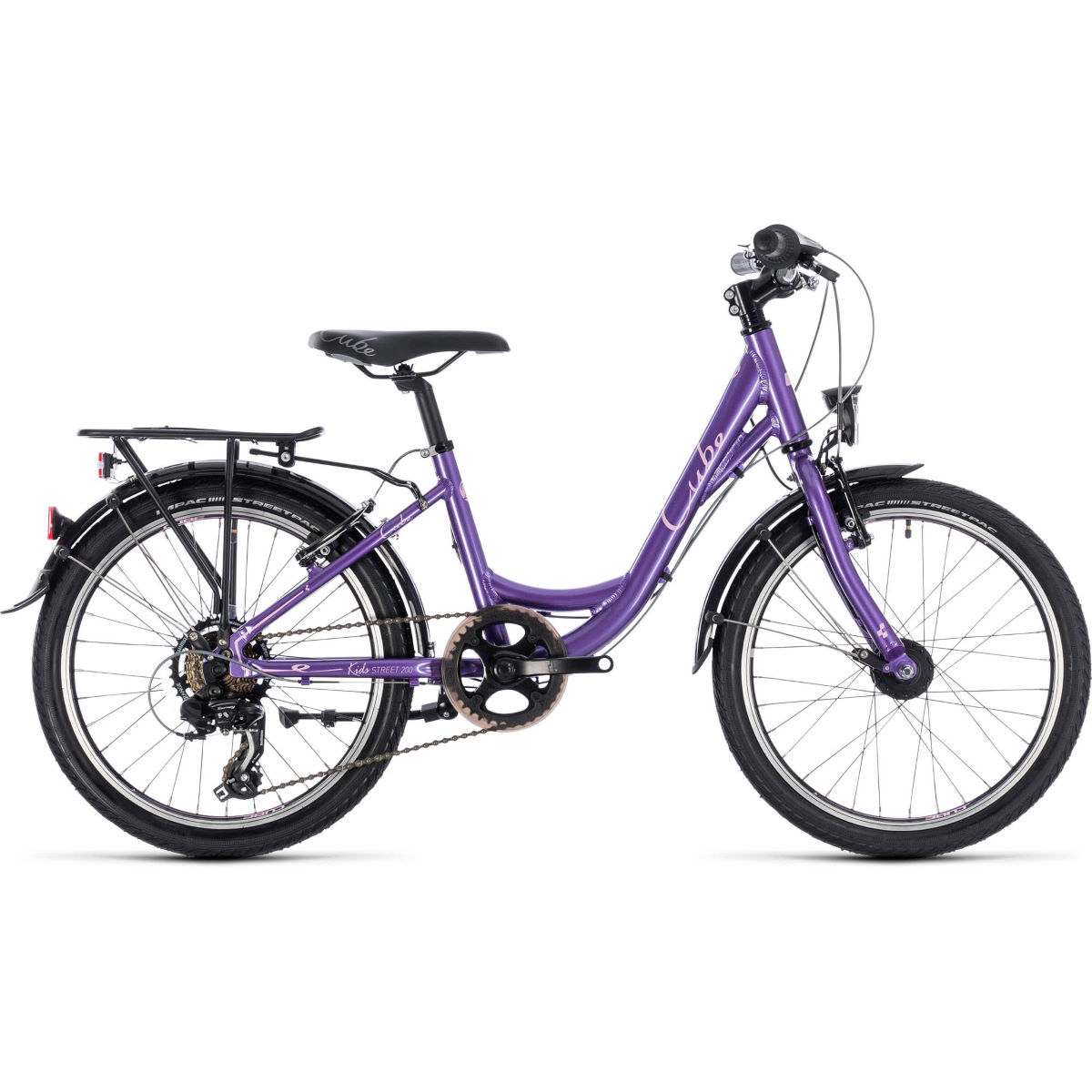 Cube Ella 200 Kids Bike (2019) – 20″ Purple – Rose | Junior Bikes