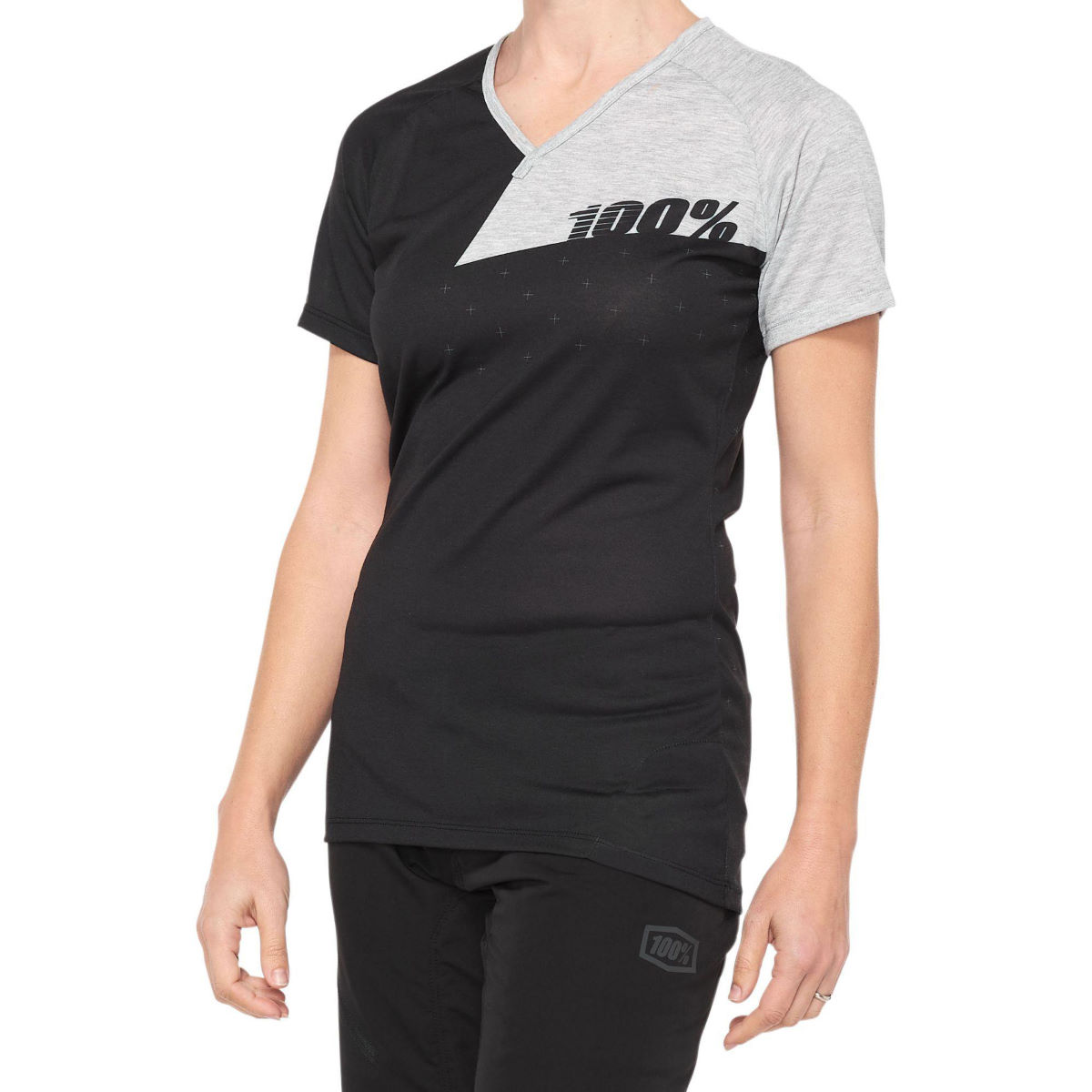 100% Womens Airmatic Jersey - Xl Black/grey  Jerseys