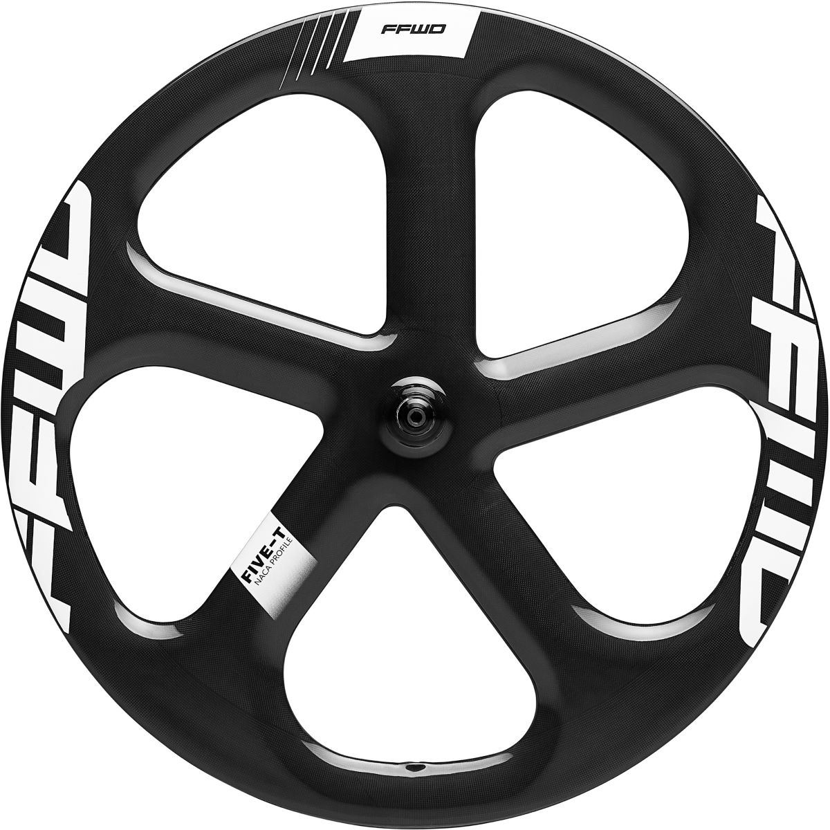 Fast Forward Fast Forward 5 Spoke 1k Tubular Track Front Wheel   Front Wheels