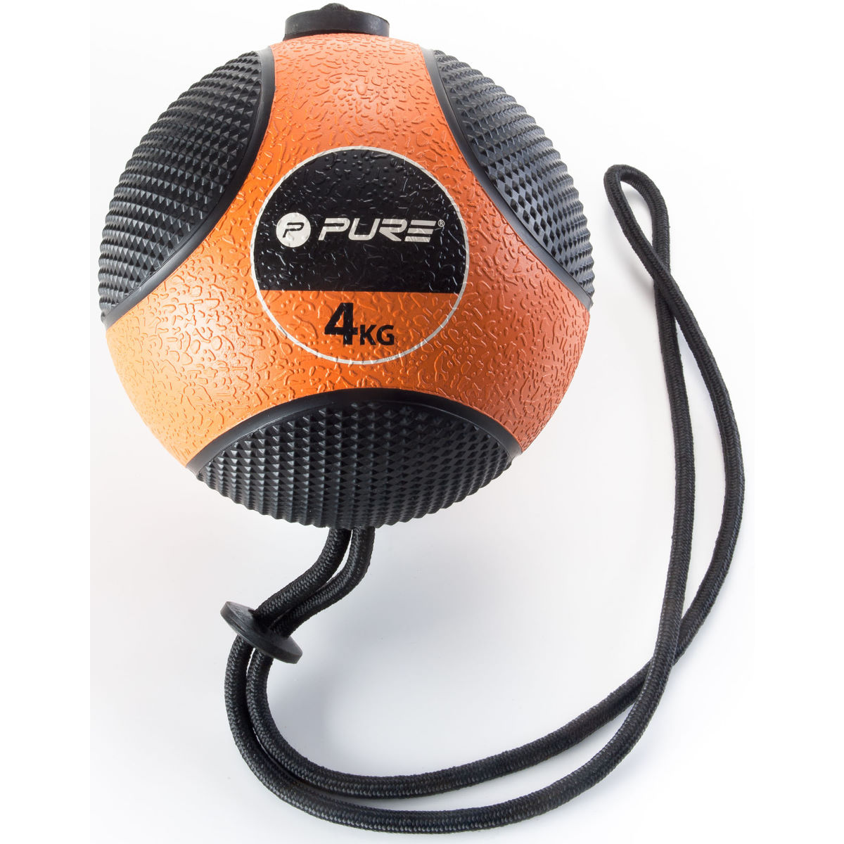Pure2Improve Pure2Improve Medicine Ball with Rope (4kg)   Weights