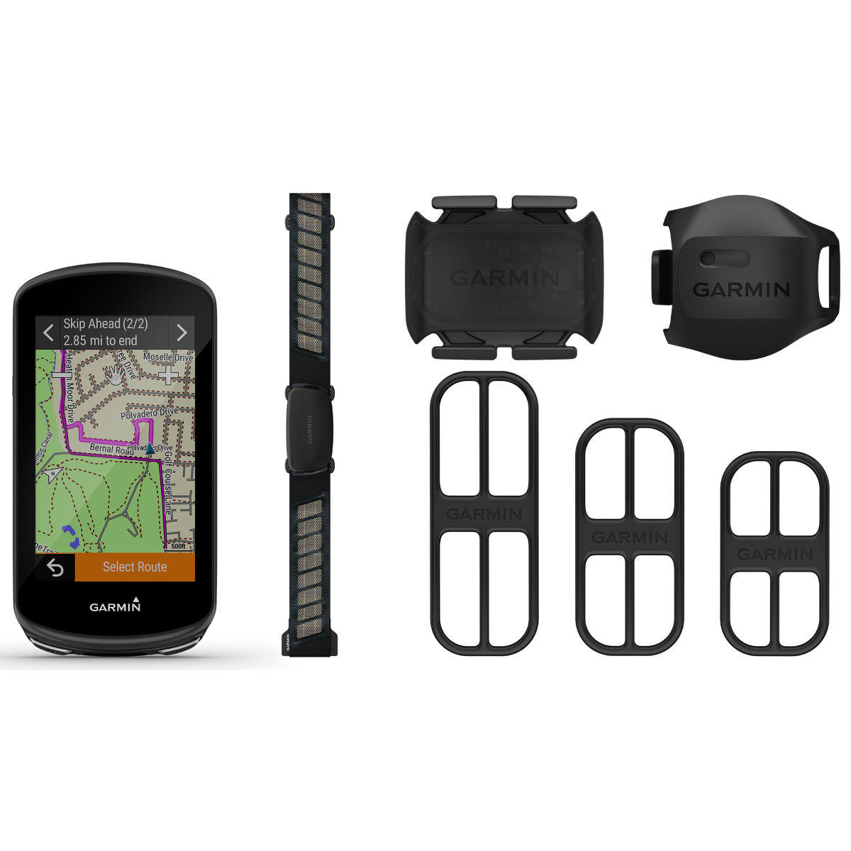 Garmin Edge 1030 Plus GPS Cycle Computer Bundle - Ciclocomputadores