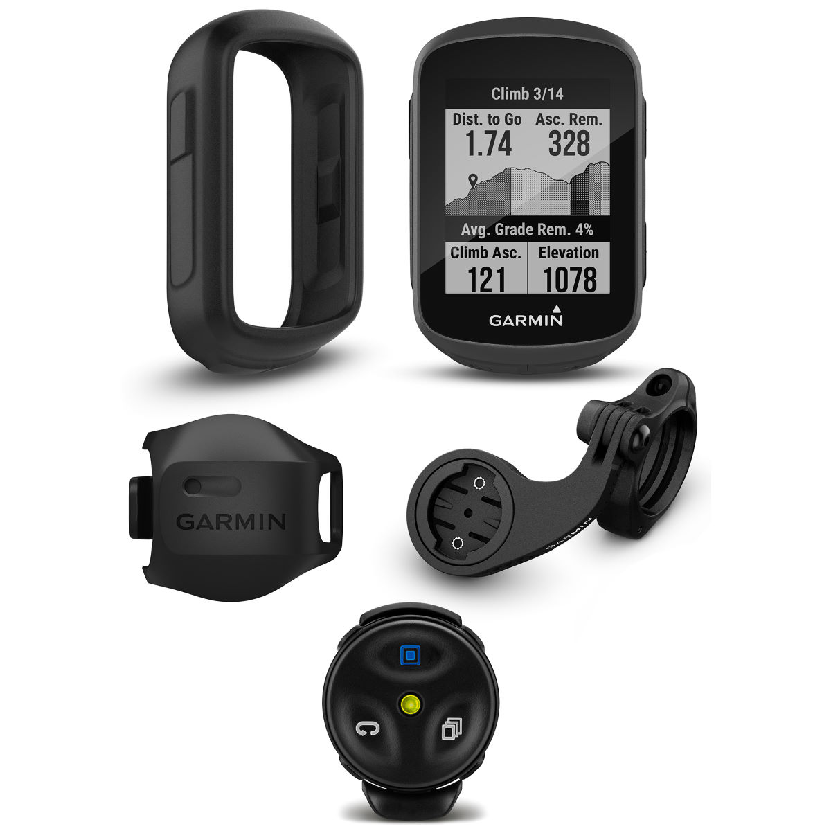 Garmin Edge 130 Plus Mountain Bike Computer Bundle - Ciclocomputadores