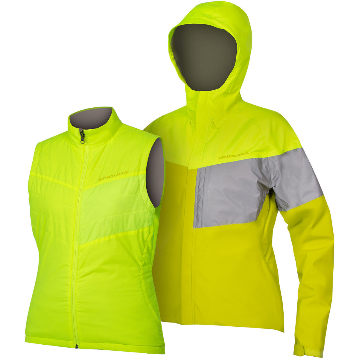 Endura Endura Womens Urban Luminite 3 in 1 Waterproof Jacket II   Jackets