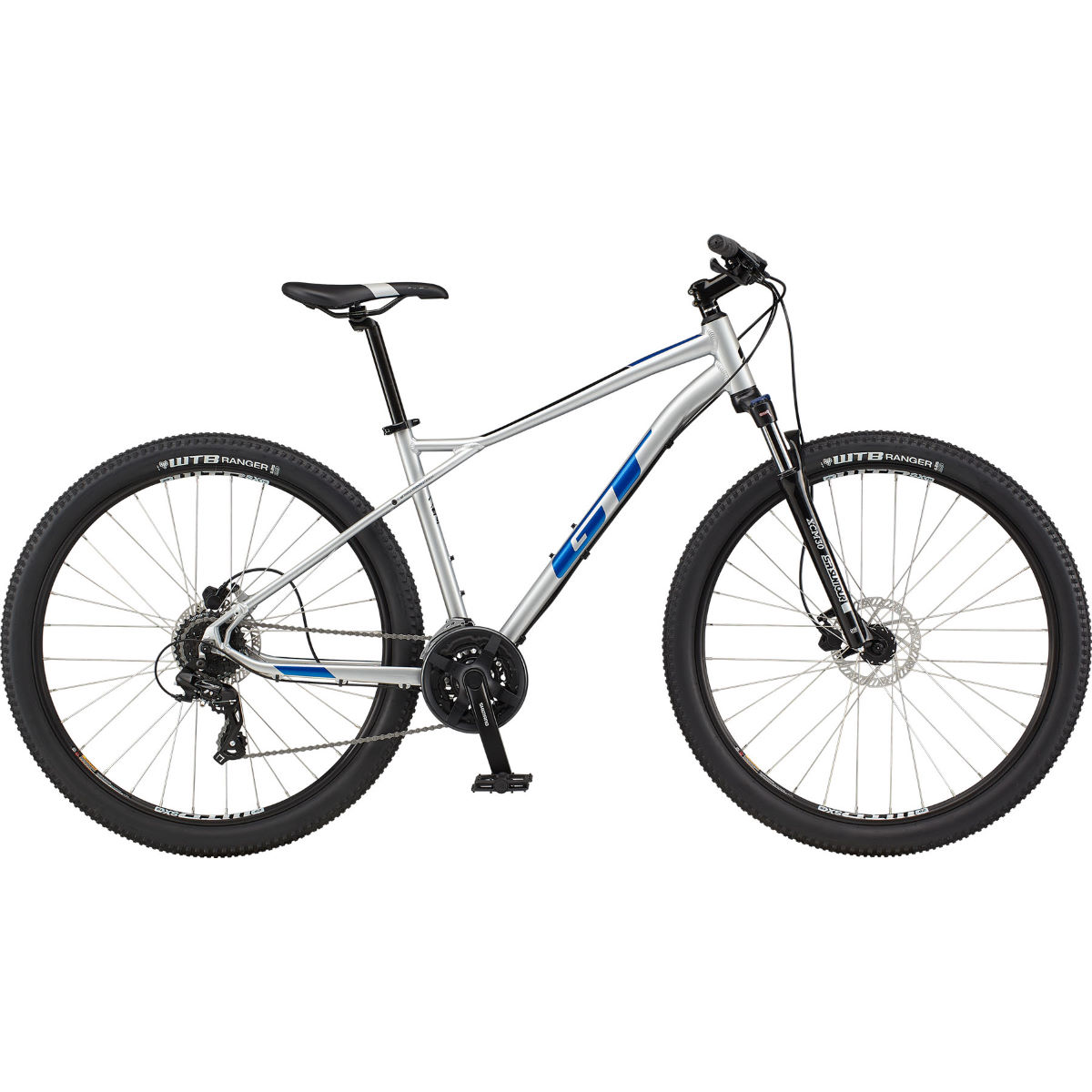 Gt Aggressor Expert 29 Hardtail Bike (2021) - X-large Silver