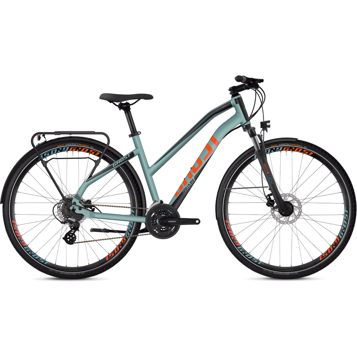 Ghost Ghost Square Trekking 2.8 W Urban Bike (2020)   Hard Tail Mountain Bikes