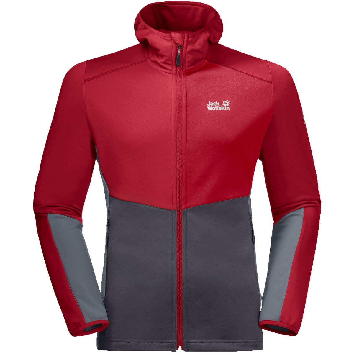 Jack Wolfskin Mount Isa Fleece - Small Red Lacquer  Fleeces