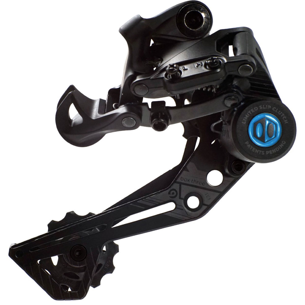 Box Three Prime 9 Speed Rear Derailleur - X-wide Black