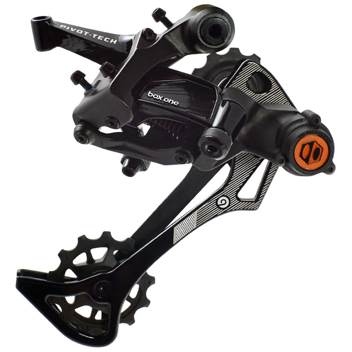Box One Prime 9 Speed Rear Derailleur - X-wide Black