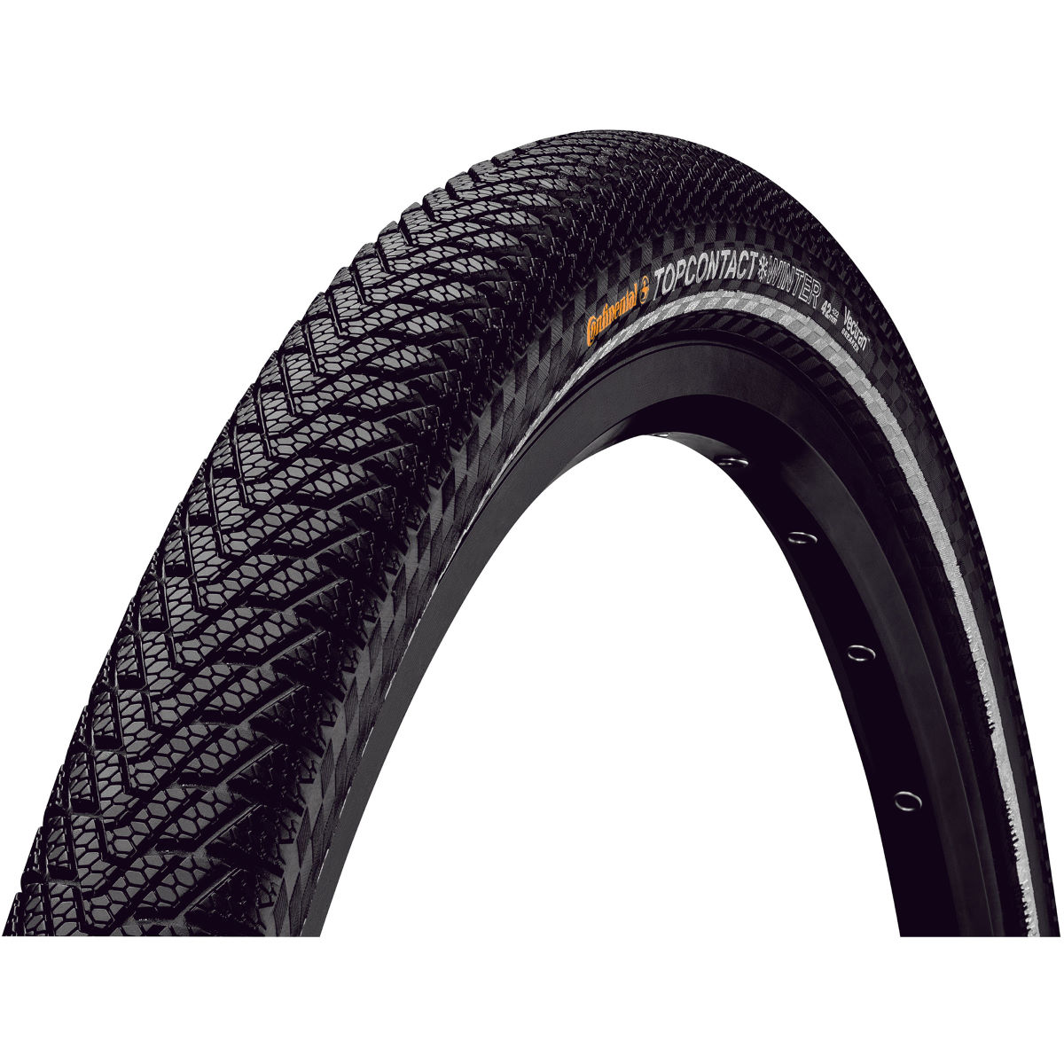 Continental Continental Top Contact Winter II Premium Folding Road Tyre   Tyres