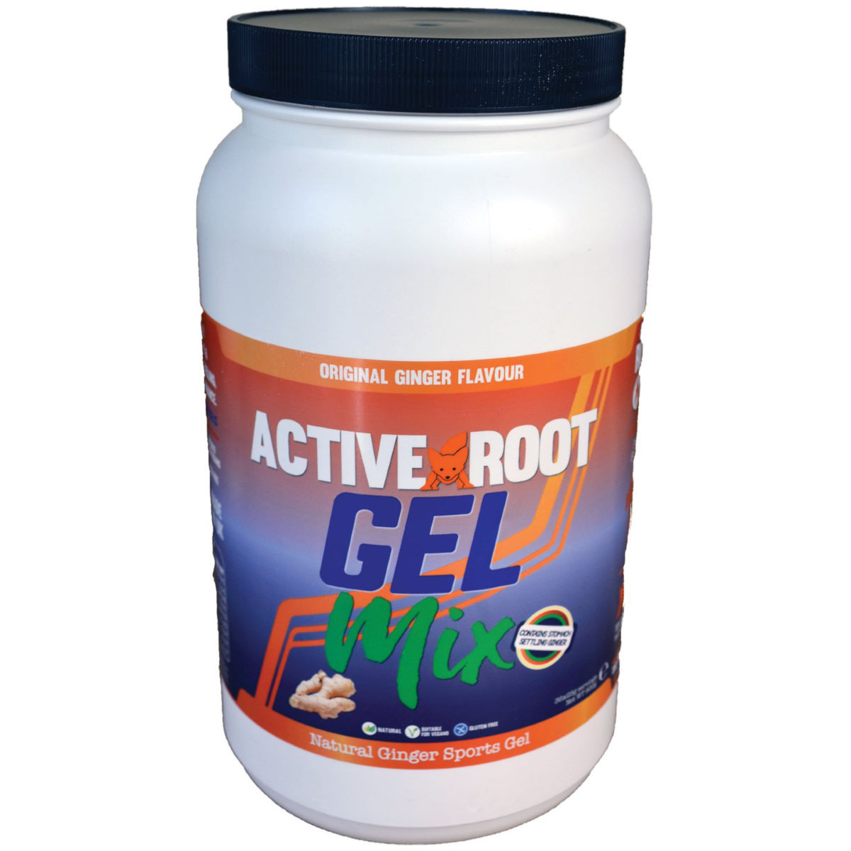 Active Root Gelmix Powder (900g) - 900g Tub Original Ginger  Gels