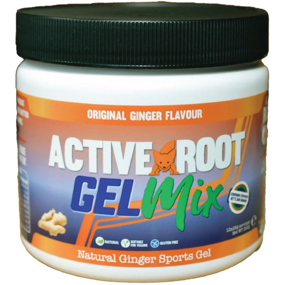 Active Root Gelmix Powder (300g) - 300g Tub Original Ginger  Gels