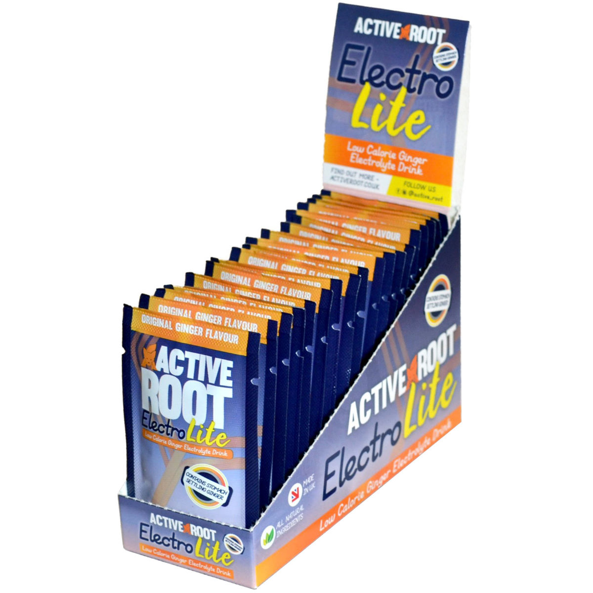 Active Root Active Root Electrolite Drink Sachets (20 x 9g)   Powdered Drinks