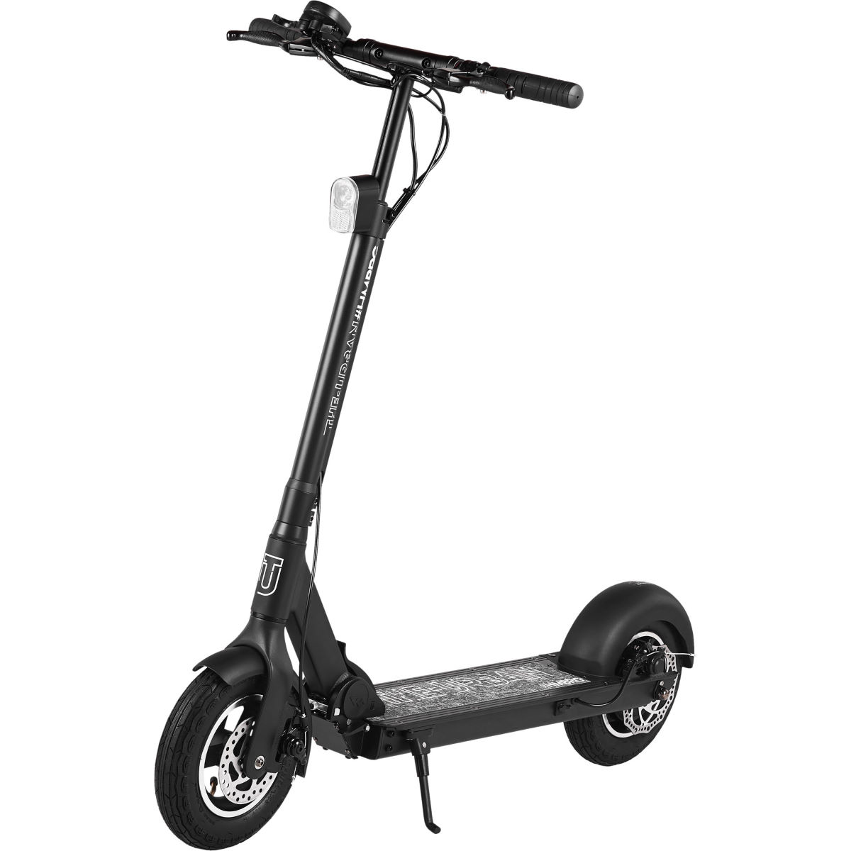 Walberg Urban V2 Electric Scooter - One Size Black  Electric Scooters
