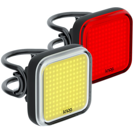 Knog Blinder Square Front and Rear Light Set