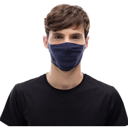 Buff Face Mask (Solid Night Blue)