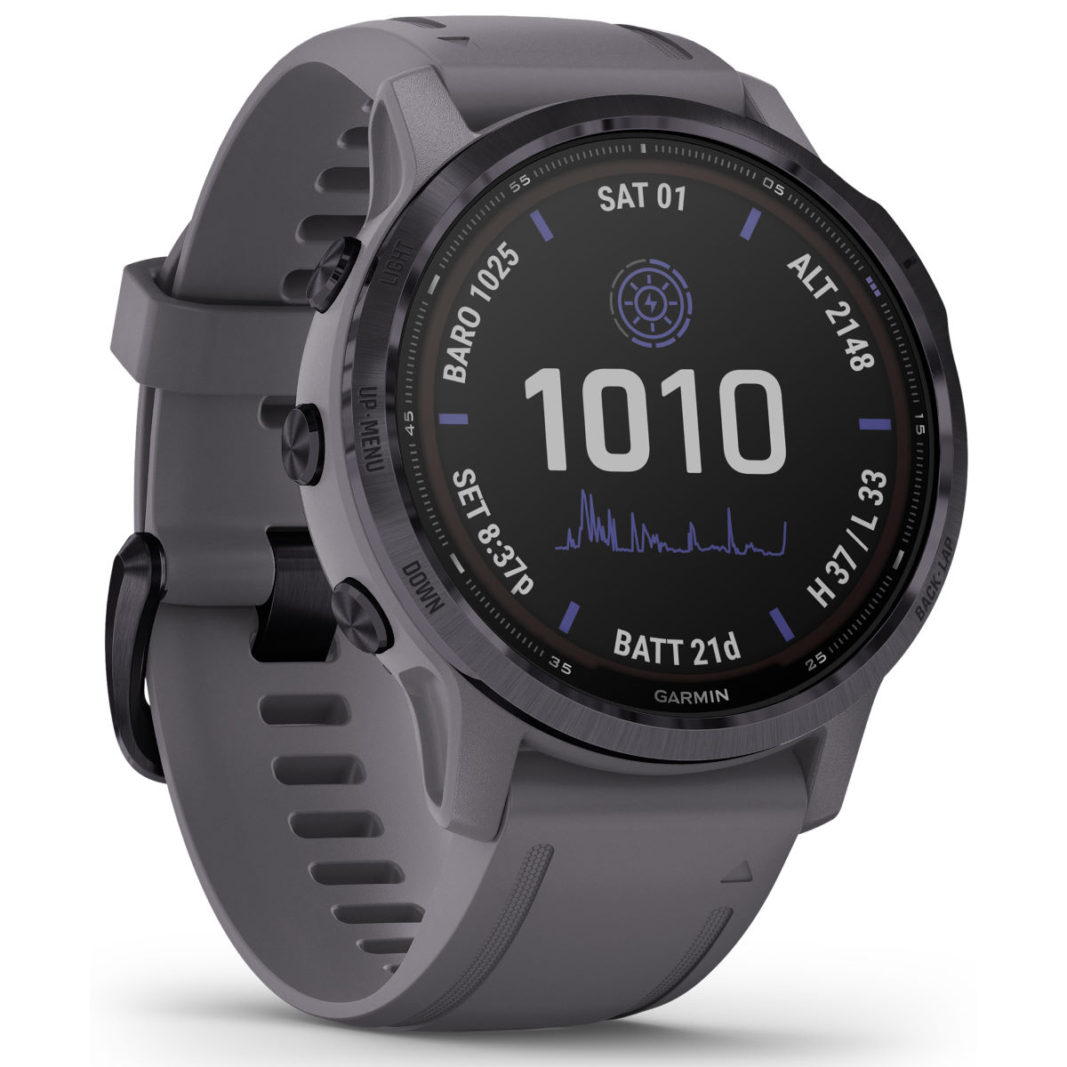 Garmin Garmin Fenix 6S Pro Solar GPS Watch   Watches