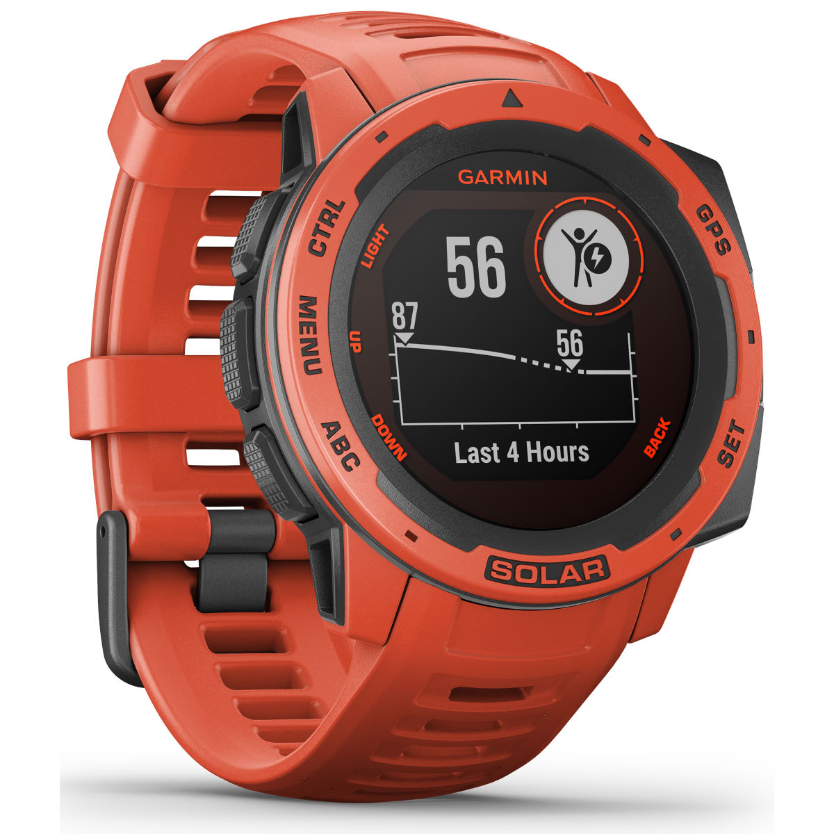 Garmin Garmin Instinct Solar GPS Watch   Watches