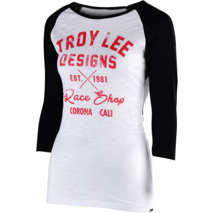 Troy Lee Designs Women's Vintage Race Shop Long Sleeve Tee