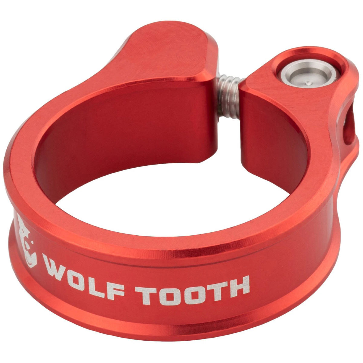 Wolf Tooth Seatpost Clamp - 34.9mm Red  Seat Post Clamps
