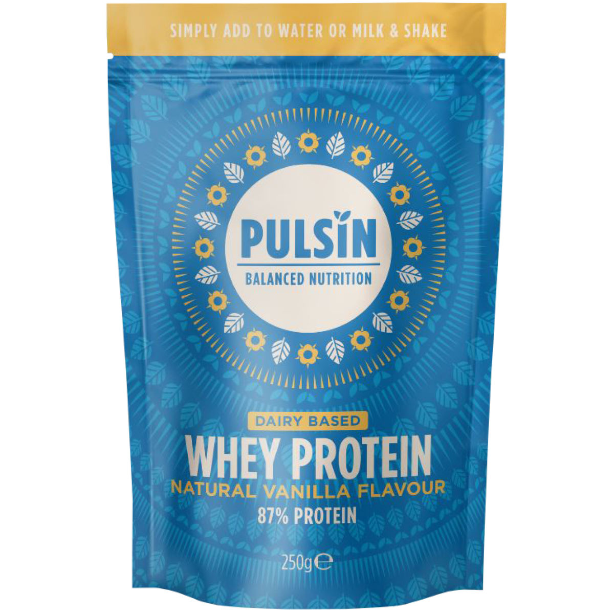 Pulsin Whey Protein Powder (1 Kg) - 1 Kg Vanilla  Powdered Drinks