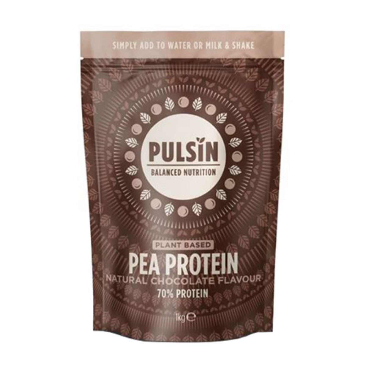 Pulsin Pea Protein Powder (1kg) - 1 Kg Chocolate  Powdered Drinks