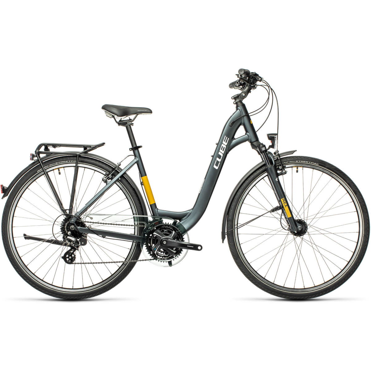 Cube Cube Touring Easy-Entry Bike (2021)   Hybrid Bikes