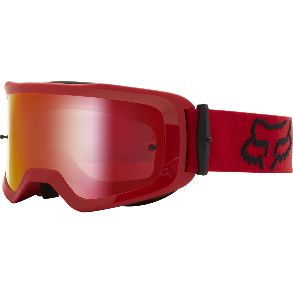Fox Racing Main Stray Spark Mtb Goggles (mirror Lens) - Os Flame Red