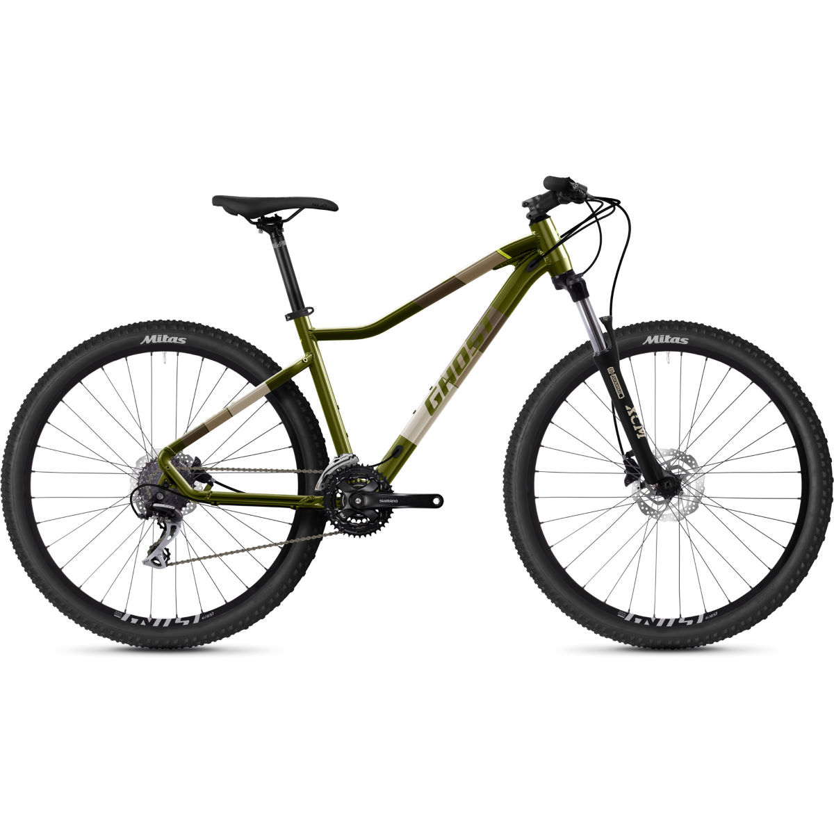 Ghost Ghost Lanao Essential 27.5 Hardtail Bike (2021)   Hard Tail Mountain Bikes