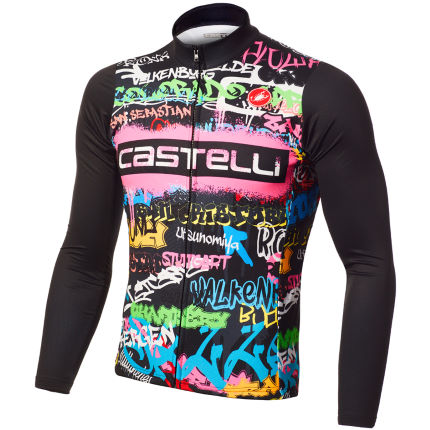 Castelli Graffiti Thermal Long Sleeve Jersey (Ltd Ed)