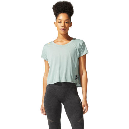 Asics Women's SAKURA Short Sleeve Crop Top