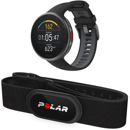Polar Vantage V2 GPS Watch with Heart Rate Black M/L
