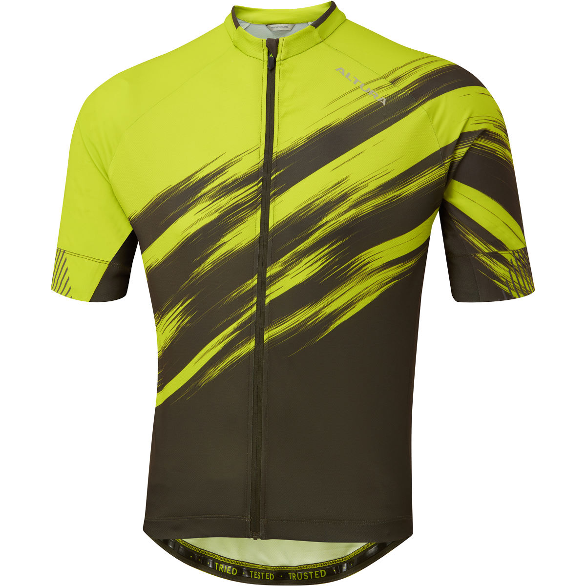 Altura Airstream Cycling Jersey - 2xl Lime/olive  Jerseys