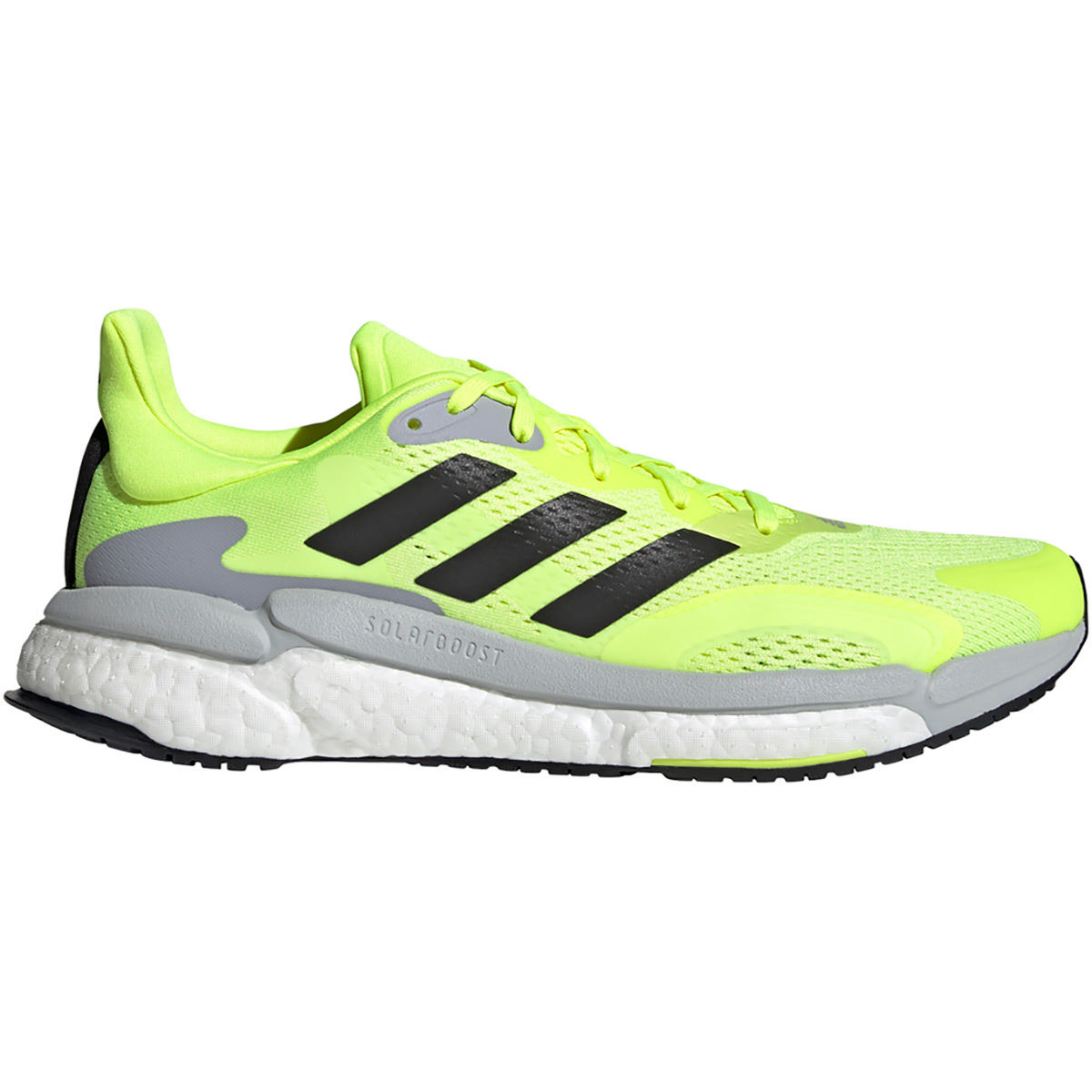 Adidas Solarboost 3 Running Shoes - Uk 12 Solar Yellow/core Bl