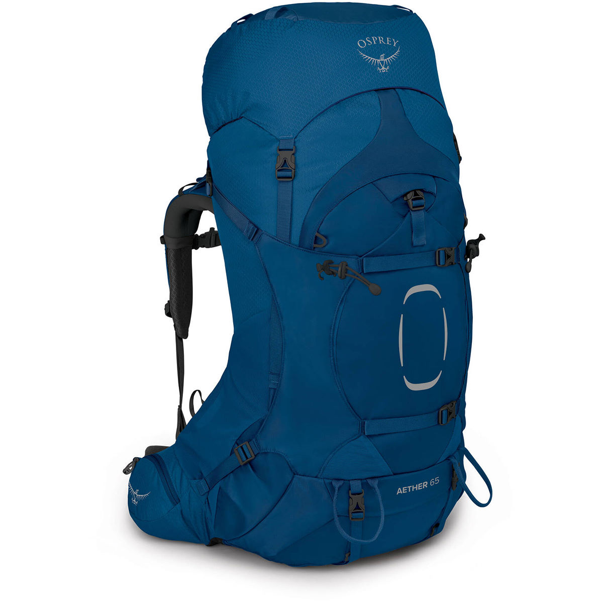 Osprey Aether 65 Backpack - Small/medium Deep Water Blue  Hiking Bags