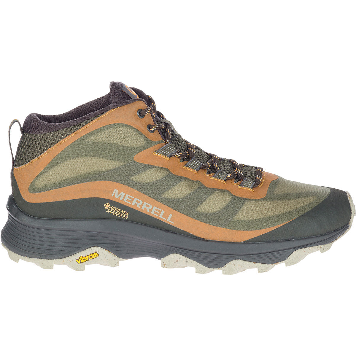 Merrell Moab Speed Mid Gore-tex Boots - Uk 10.5 Lichen  Boots