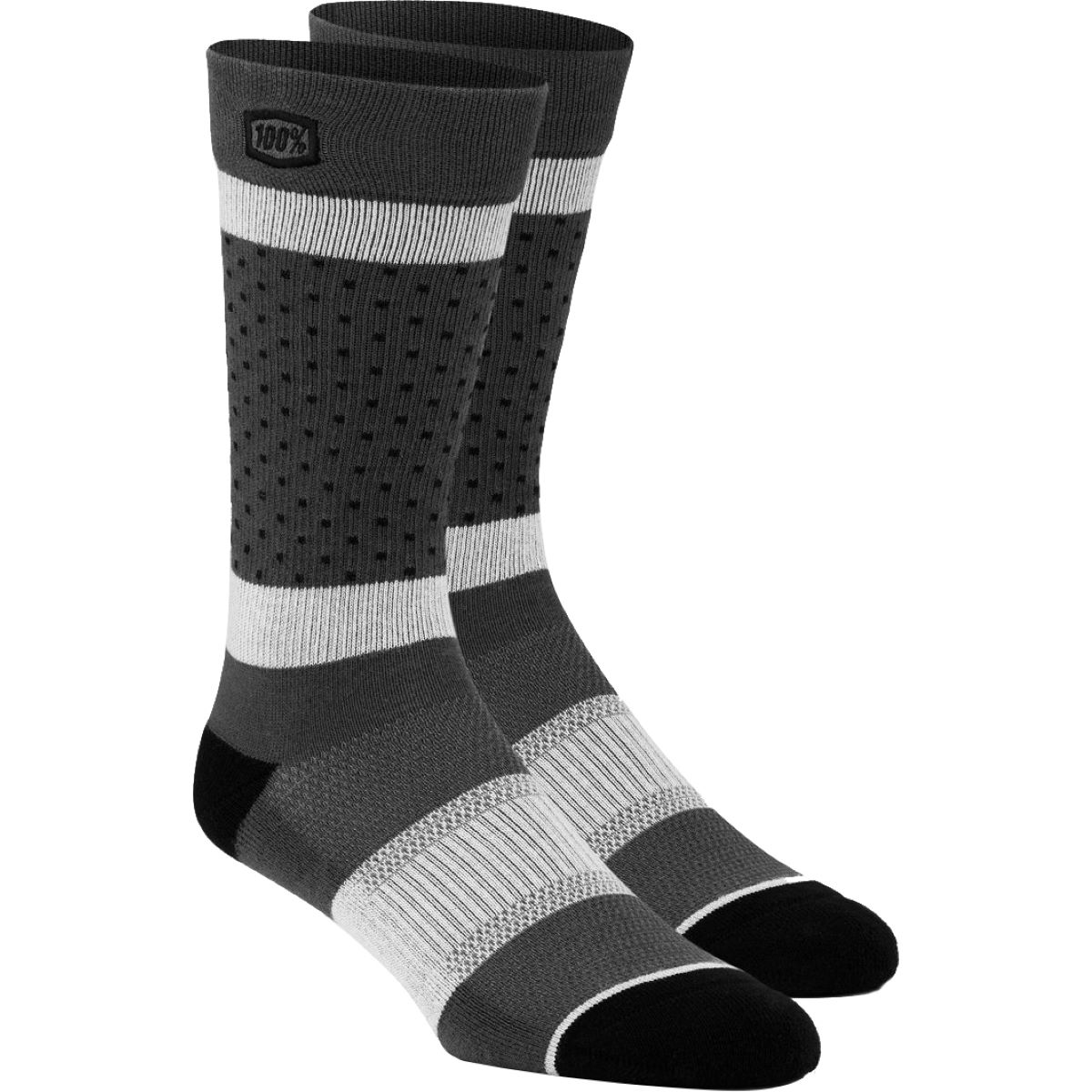 100% Opposition Casual Socks - S/m Grey  Socks
